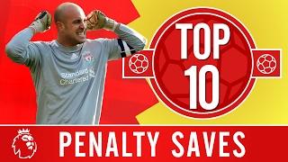 vuclip Top 10: The best Premier League penalty saves   Rooney, Costa, Klinsmann