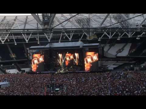 Gunsnroses in London 2017 June 16th