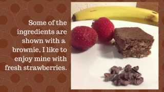 Quick & Easy Gluten-free Banana Nut Brownies Recipe