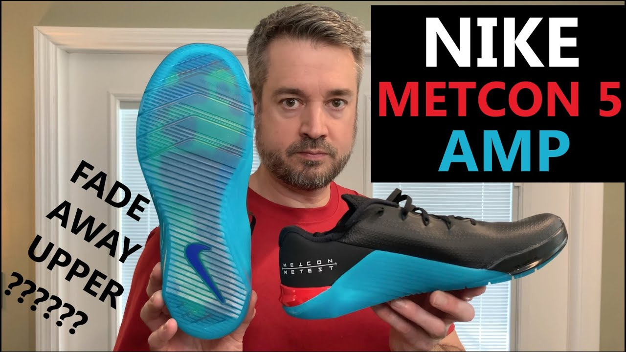 Newest Nike Metcon 5 AMP Training Shoe with Fade Away Upper - First Look