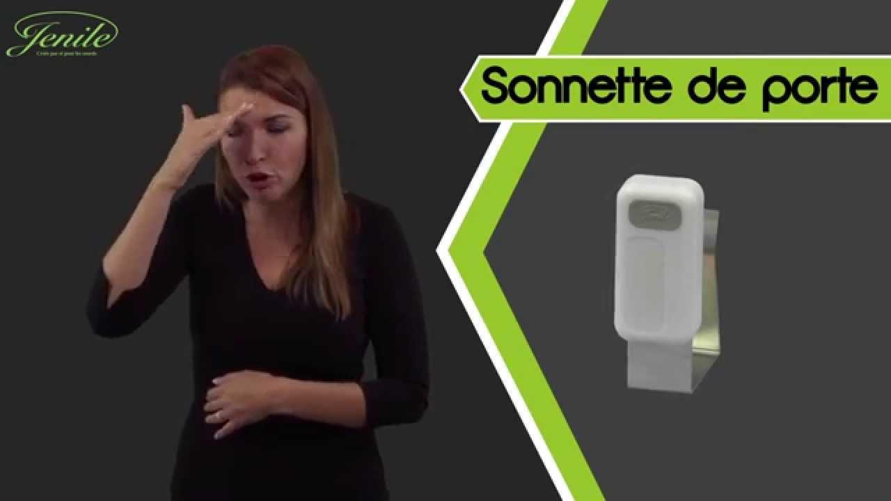 Jenile sonnette de porte youtube - Sonnette mecanique de porte ...