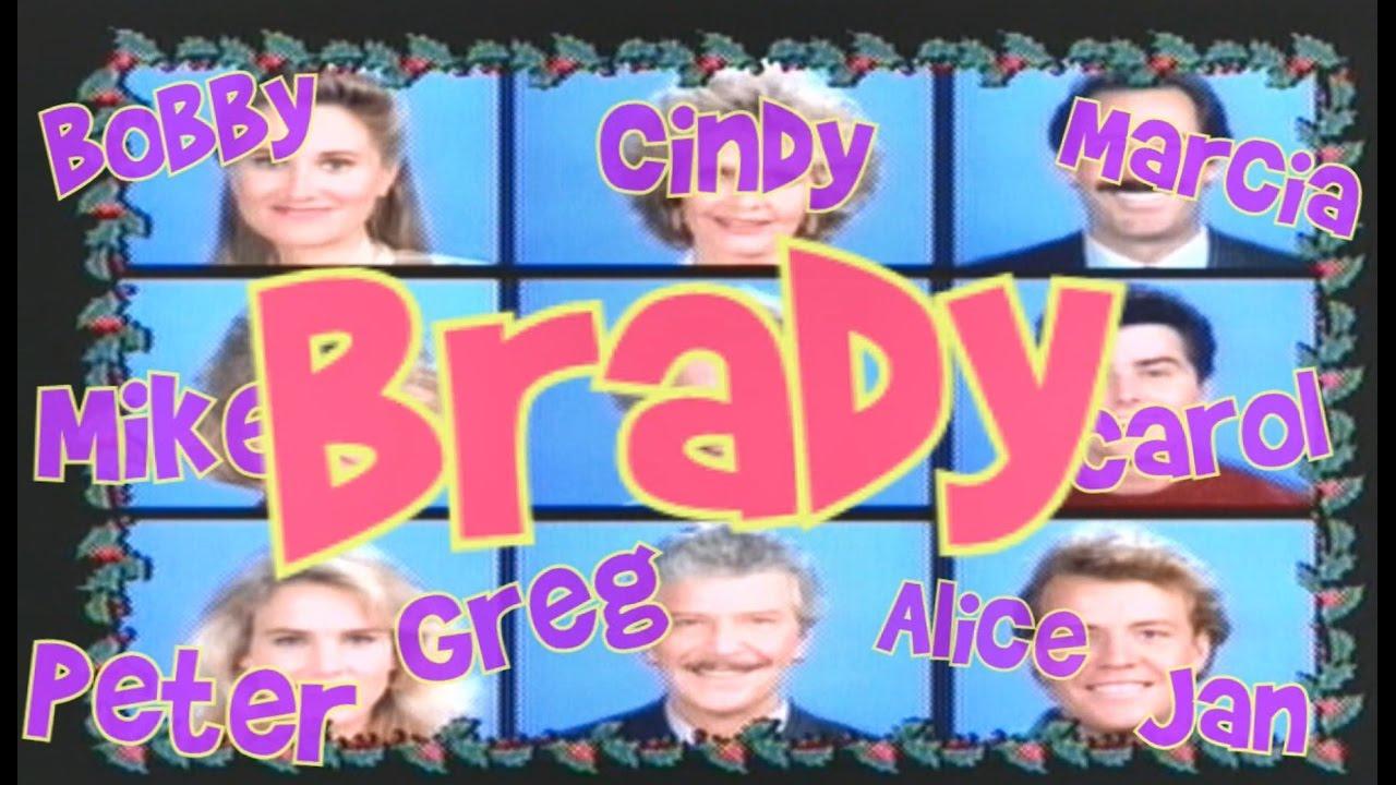 Every time a Brady name is said by the Bradys in A Very Brady ...