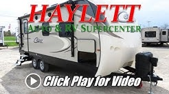 HaylettRV - 2018 Keystone Cougar 21RBS King Bed Ultralite Couple's Travel Trailer