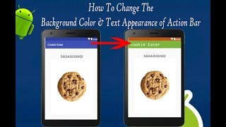 Actionbar Content Color In Android