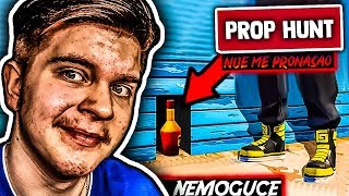 I HID IN THE BOTTLE !? 😂 (LAUGHING TO TEARS) Fortnite Prop Hunt #1