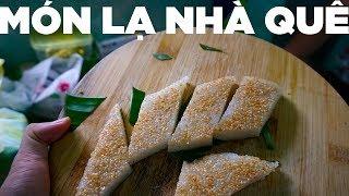 Cách làm bánh xôi vị miền tây tại nhà | Ăn xôi dị chiều mưa | Hương Vị Miền Tây