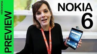 Nokia 6 preview y primeras impresiones MWC | 4K UHD