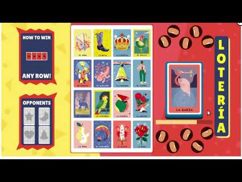 Loteria Game Google Doodle This Playable Doodle Allows You Playing With Your Friends Online Youtube