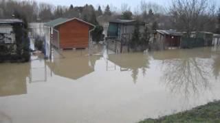 Povodňová situácia, Nové Zámky