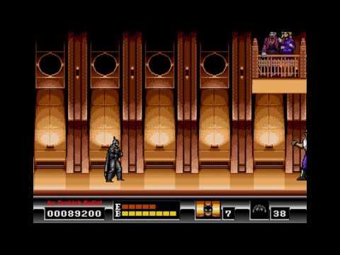 Batman: The Video Game (World) (Sega Mega Drive / Genesis) - (Longplay | Hard Difficulty)