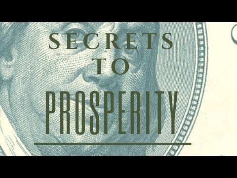 The Hidden Secrets To Manifesting Prosperity! (Listen to this over and over!)