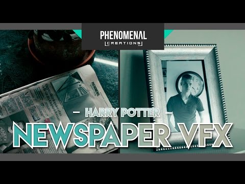 Harry Potter Moving Picture | After Effects CC Tutorial