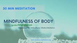 Mindfulness of Body | Satipatthana Vipassana | Wisdom Meditation