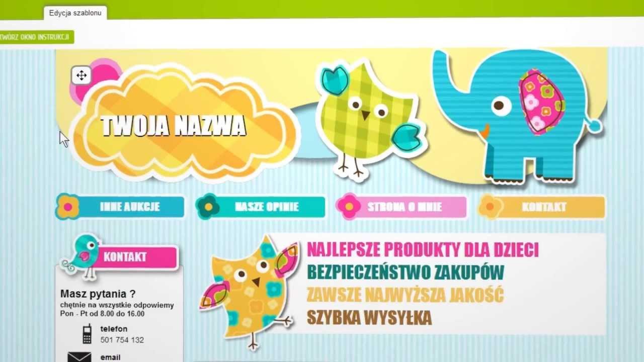 Prezentacja Aleszablony.pl - Zobacz jak działa Generator Szablonów Allegro!