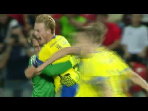Sverige vann EM-guld efter superdrama - Nyheterna (TV4)