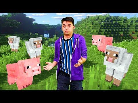 Видео Майнкрафт для новичков - Что делать Нубу в Minecraft? - Гейм шоу Кубик Нубика.