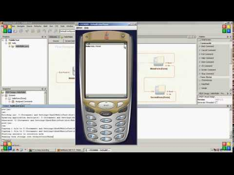 How to create java mobile application in netbeans youtube how to create java mobile application in netbeans ccuart Choice Image