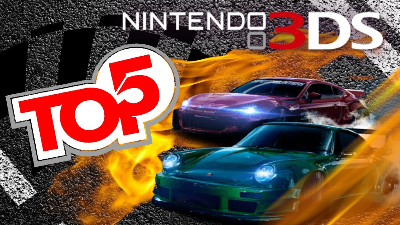 TOP 5 - Racing Games For Nintendo 3DS