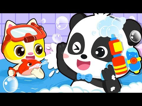 Bath Song | Baby Bath Time | Nursery Rhymes | Kids Songs | Kids Cartoon | Baby Videos | BabyBus