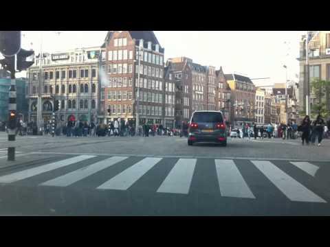 Onderweg rondje Amsterdam Centrum