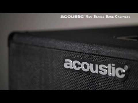 Acoustic Neo Series Bass Cabinets