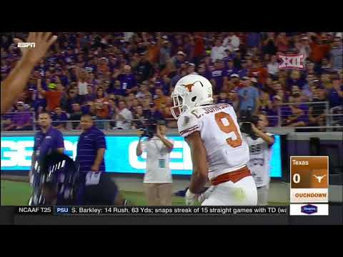 Texas at TCU Football Highlights