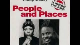 DEE DEE BRIDGEWATER/PHILIP BAYLEY-PEOPLE & PLACES-PHIL MANCA