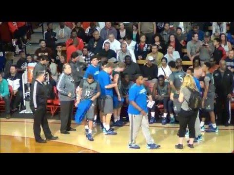 Chino Hills, CA vs Bishop Gorman, NV. 2016 Nike Extravaganza, Mater Dei, Meruelo Athletic Center