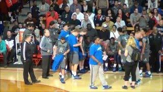 Bishop Gorman NV vs Chino Hills CA, 2016 Nike Extravaganza, Mater Dei, Meruelo Athletic Center