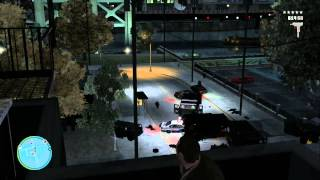 Grand Theft Auto 4: 6 Star Shootout & Escape (HD)
