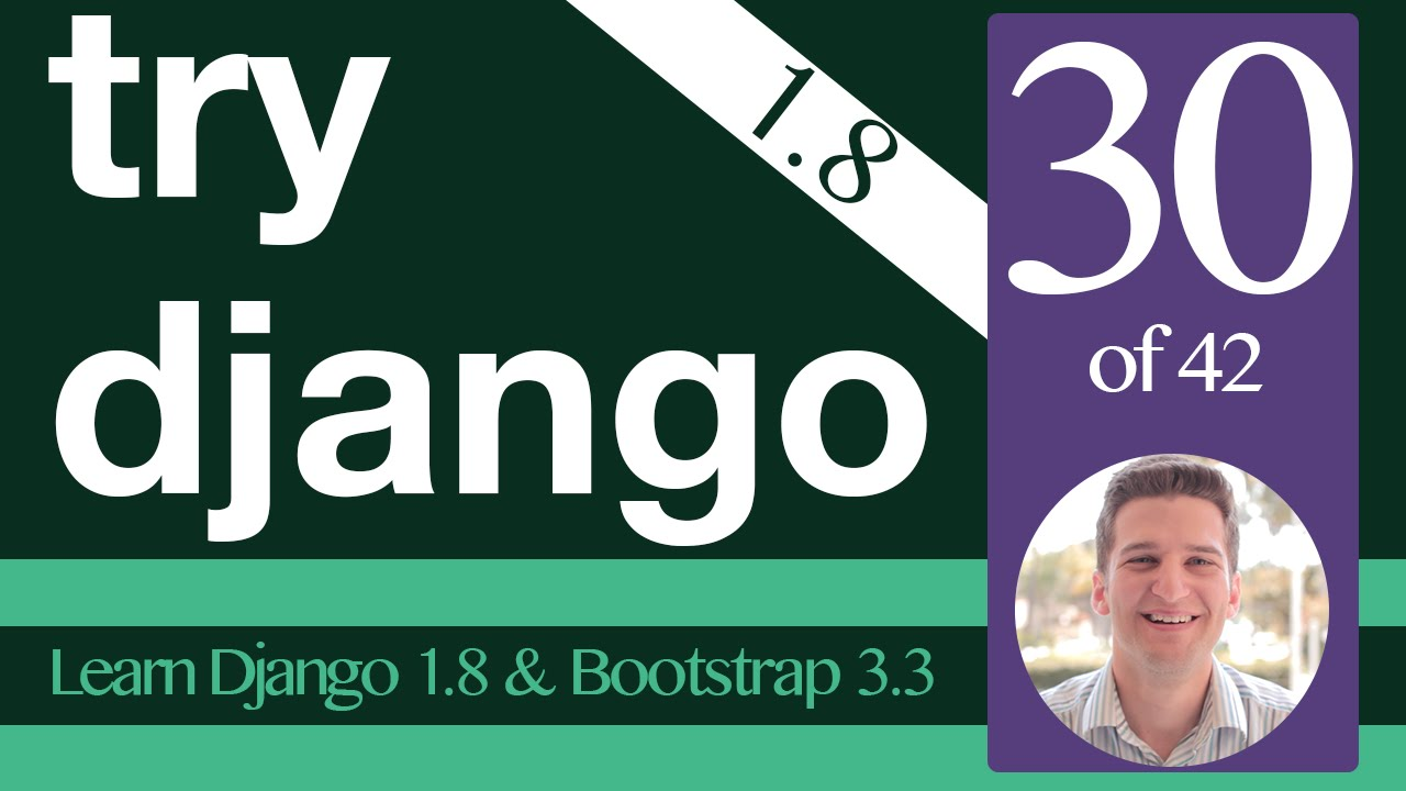 Try Django 1.8 Tutorial - 30 of 42 - Login Form in Bootstrap ...