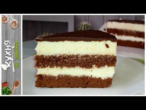 """Очень нежный торт """"Милка""""   Сливочный крем на белом шоколаде"""