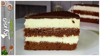 Очень нежный и вкусный торт Милка Сливочный крем на белом шоколаде