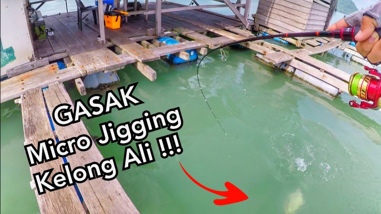 GASAK MICRO JIGGING KELONG ALI PULAU AMAN!!!