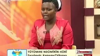 Cemania na Salome Mwangi uria waingiririo kwa ngoma ee munini  PRT 2