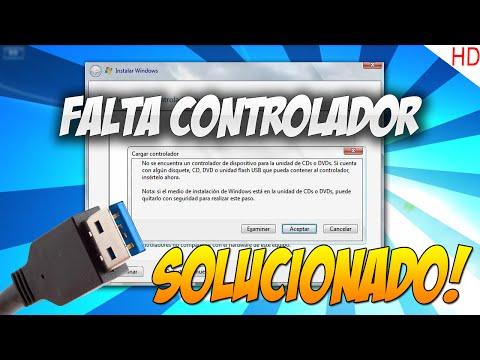Tutorial - No se Encuentra Controlador de Dispositivo (FORMATEO) Solucionado