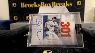 2019 Luminaries Baseball 12 Box Case Break #2