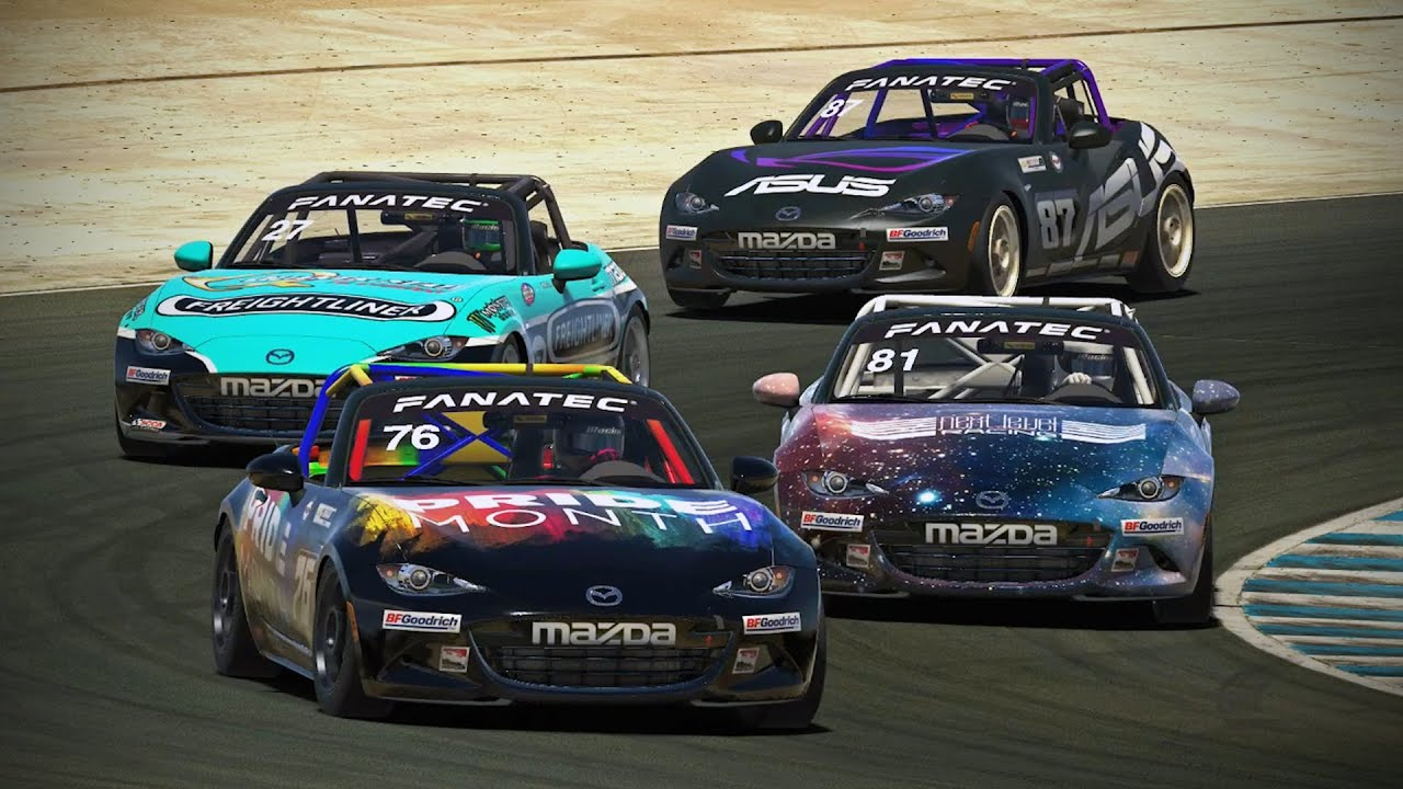iRacing OCRP League Race 6 at Laguna Seca!