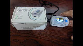 Choicemmed Pulse Oximeter MD300CN330 review Pulse blood Oxygen SPO2 PI amp PR Measurement