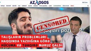 Talışların problemləri haqqında yazdığına görə hücuma və təhqirə məruz qaldı! - OTV (#126)