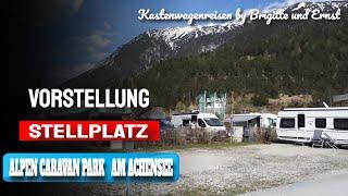 Mit dem Wohnmobil Kastenwagen zum Alpen Caravan Park Achensee Tirol