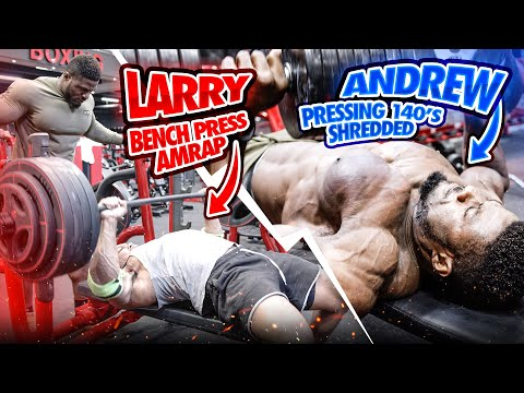 HEAVY BENCH PRESS AMRAP, HEAVY DUMBBELLS AND PUSHUP SURFING!