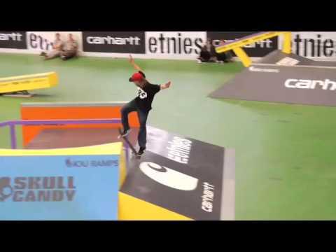 Etnies - European Skateboard Championships 2009, Basel, Swiss, SATURDAY