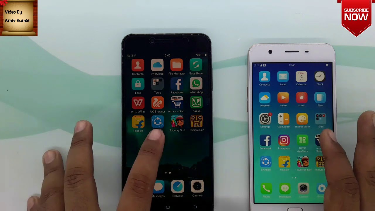 Oppo A57 vs Vivo y66 specific compare and speed test
