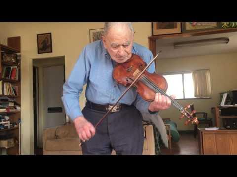 At Age 100, Still Fiddling
