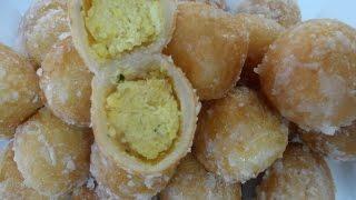 Swah Egg Dessert Recipe (Noum Pong Song)
