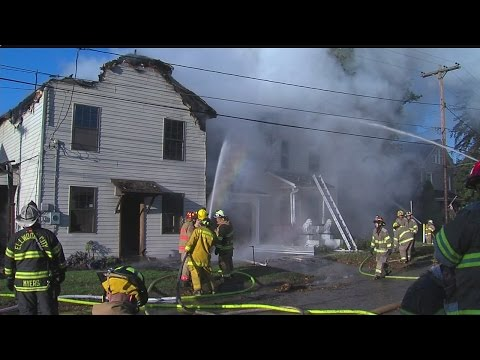 Fire Damages Homes In Wampum, Pa.