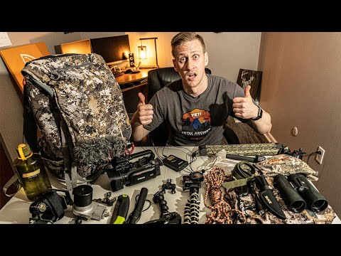 Backpack Dump - HUNTING GEAR REVIEW