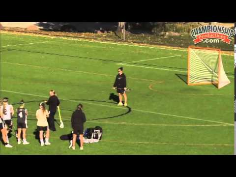 React And Shoot Quickly In Front Of The Net! - Lacrosse 2015 #18