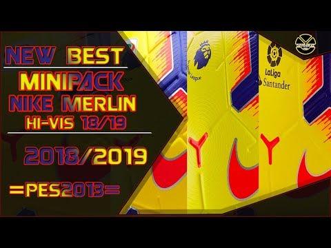PES 2013 New Best Ball Nike Pack Merlin Hi-Vis 2018 / 2019 HD by DaViDBrAz